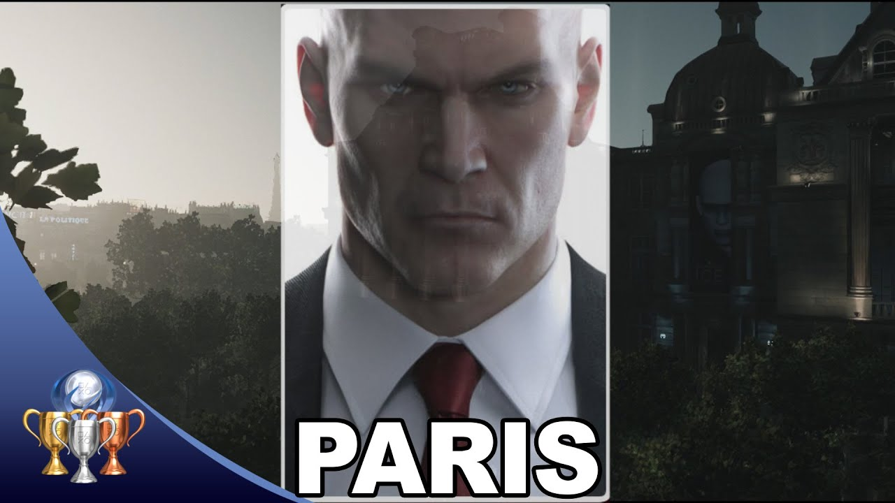 Download Hitman Paris - The Showstopper - Silent Assassin, Suit Only & Meeting the Reaper Trophy