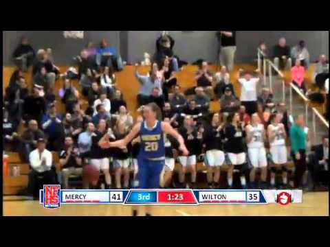 A video of Karen Brosko's 3-point basket which helped change momentum in Monday's win over Mercy.
