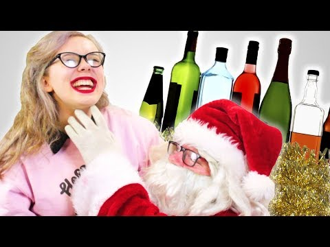 Drunk Irish People Meet Santa