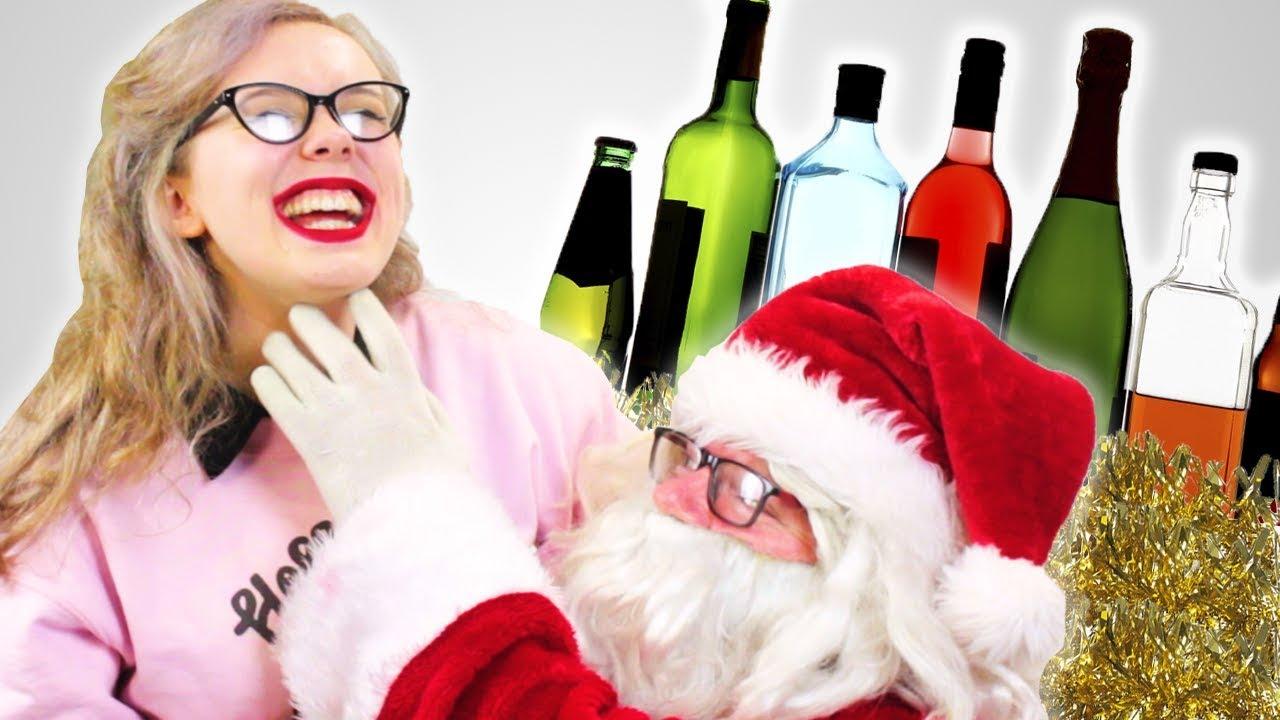 Drunk Irish People Meet Santa - YouTube