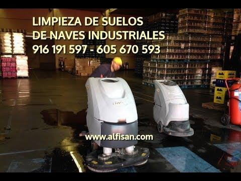 Empresa de limpieza de naves industriales en Alcorcón - 916 191 597 ...