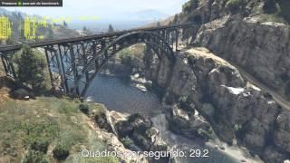 Grand Theft Auto V PC - benchmark - I5 3570K GTX 670