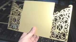 видео Лазерные Пригласительные на Свадьбу