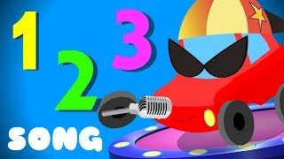 Numbers Song | Little Red Car | 123 Video For Kids & Babies
