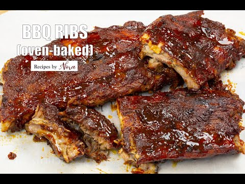 BBQ Ribs (oven-baked)
