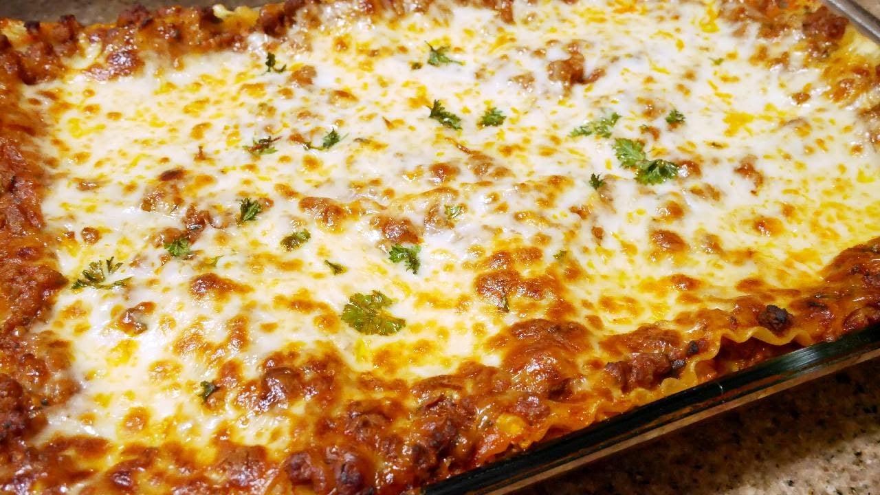 Download Homemade Lasagna Recipe | Easy & Delicious | The simple way