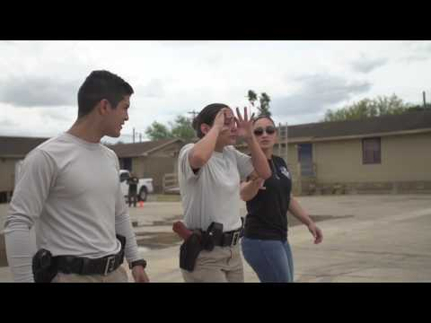 South Texas College Police Academy Pepper Spray Training