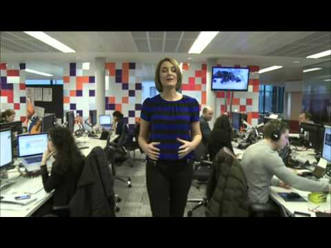 AN INTRODUCTION TO THE WORLD'S NEWSROOM - BBC WORLD NEWS