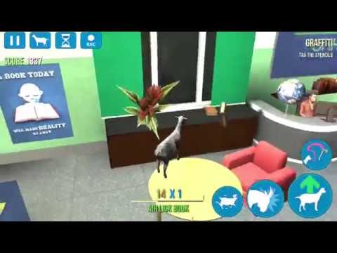 Goat Simulator - Goatville High - How to find the Book Thieves