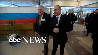 Election day in Russia proves triumphant for Putin