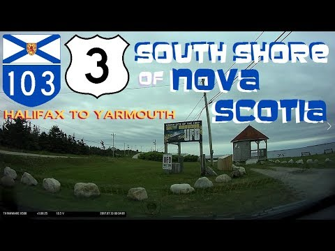 Time Lapse: South Shore of Nova Scotia - Halifax to Yarmouth