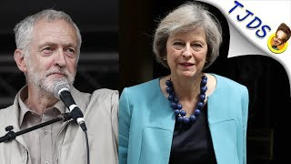 May Vs. Corbyn - Starkly Different Reactions To Grenfell Fire