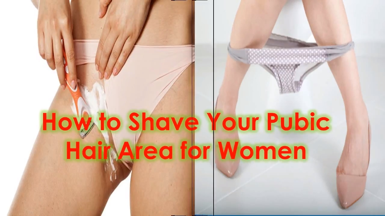 How should i shave my pubic area
