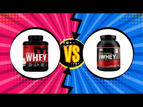 Optimum Nutrition Gold Standard Whey Vs MTS Nutrition Machine Whey