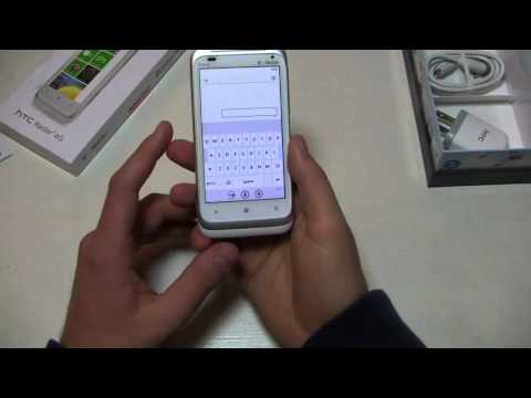 HTC Radar 4G Unboxing