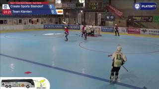 Spiel 1: Create Sports Steindorf - Team Kärnten - Highlight  (Verlängerung / 01:25) am 17.06.2016 19