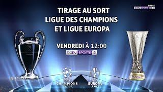 🔮 Suivez le tirage au sort des demi-finales de l'UEFA Champions League en direct 🏆