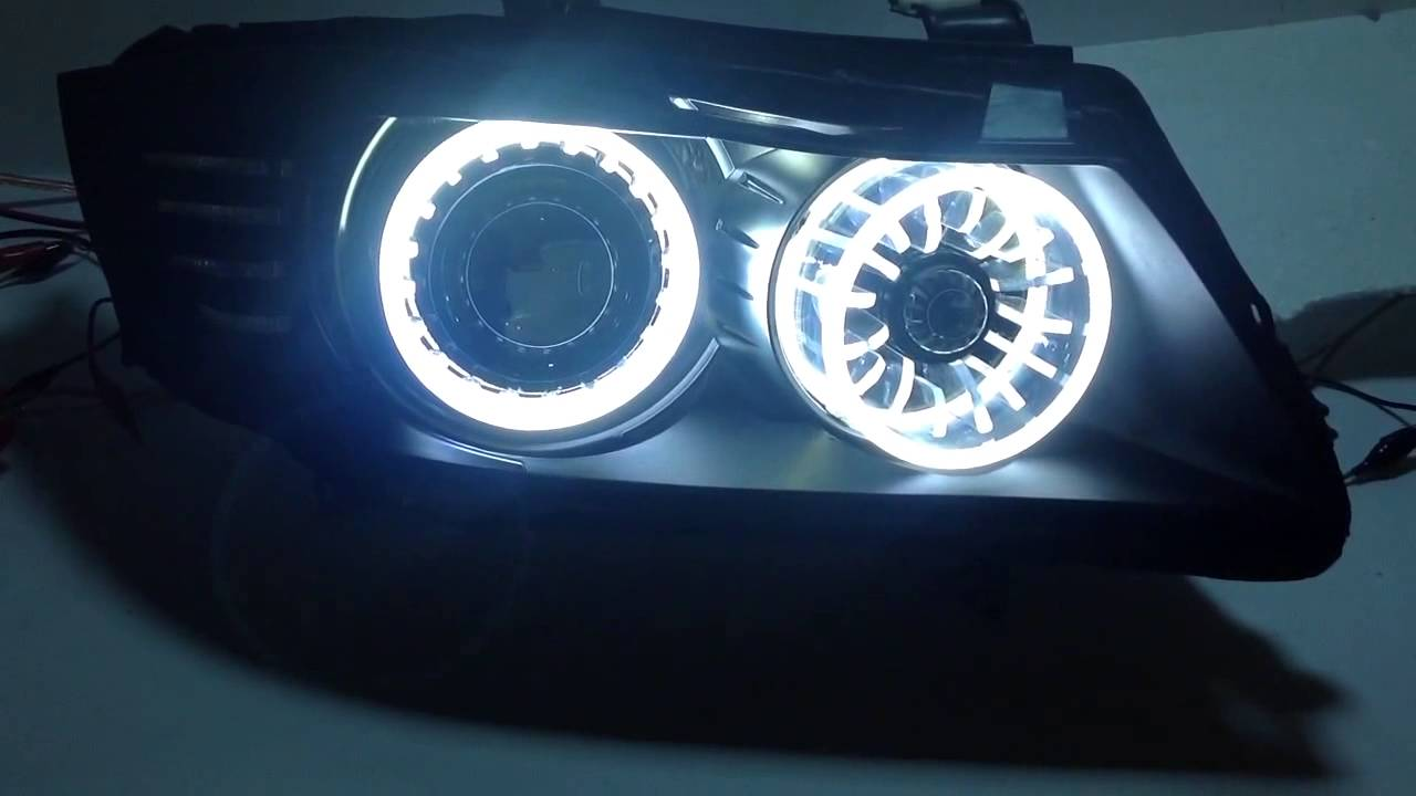 Bmw 3 Series E90 Hid Retrofit 3d Led Light Modules Youtube