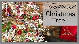 Christmas Decorating 2016 | Traditional Color Christmas Tree