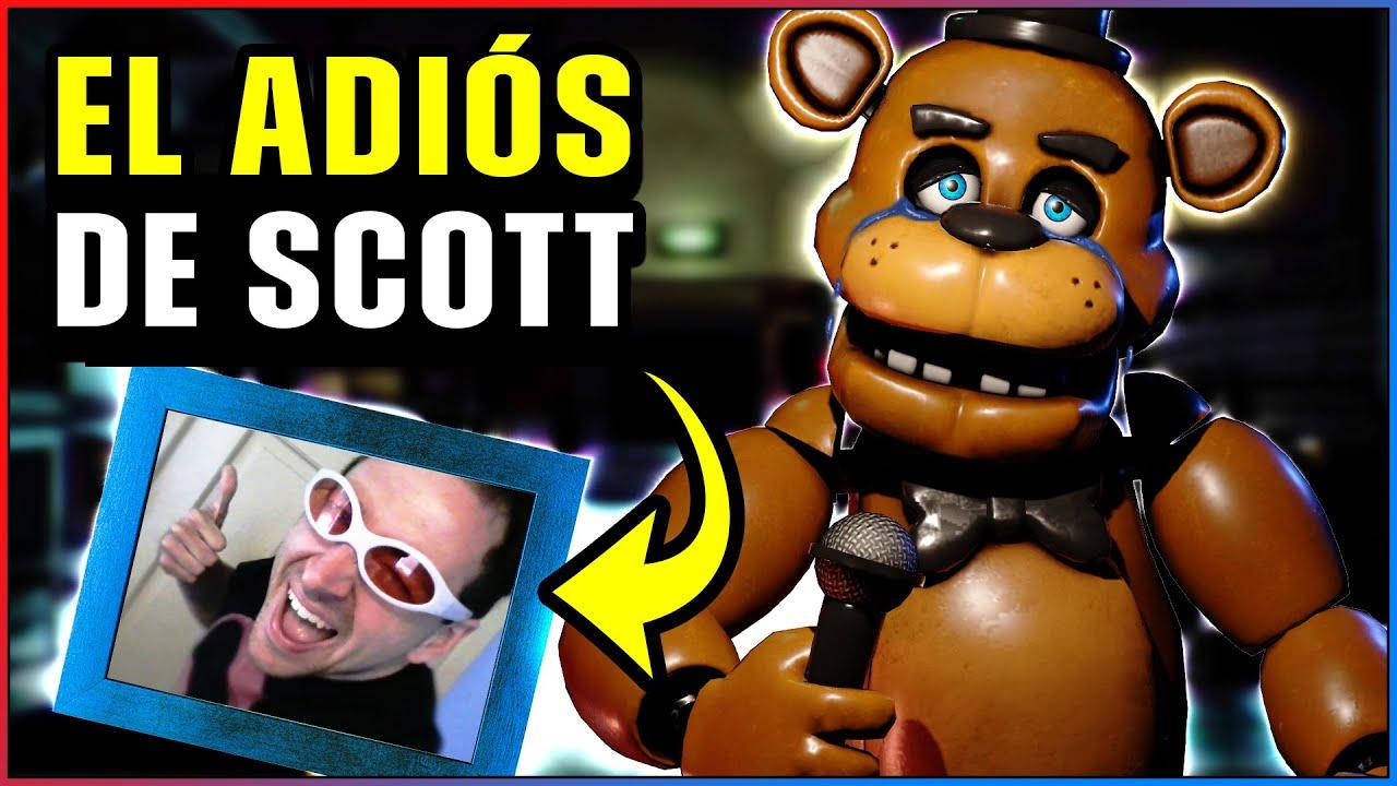 Scott Cawthon ABANDONA FNAF 😱 Carta de Five Nights at Freddy's
