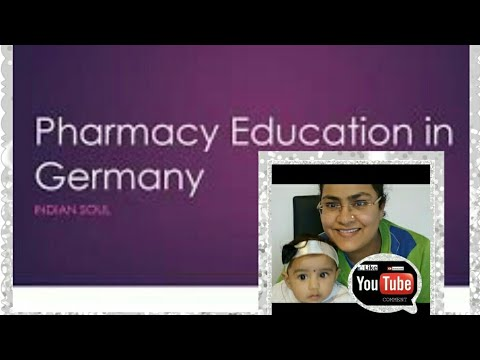 Pharmacy education in Germany!