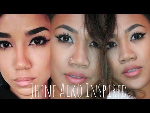 Jhene Aiko Inspired Makeup Tutorial| Emma Enriquez
