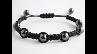 How To Make A Shamballa Style Bracelet-Nano Cord-CbyS Paracord and More