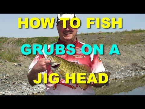 How To Fish Grubs On A Jighead | Bass Fishing
