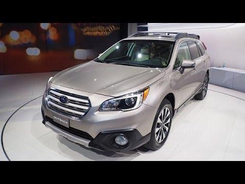 2015 Subaru Outback Debut Video @ New York Auto Show