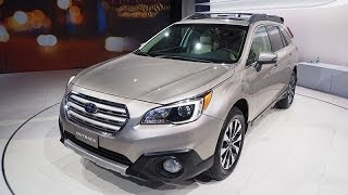 2015 Subaru Outback Debut Video @ New York Auto Show