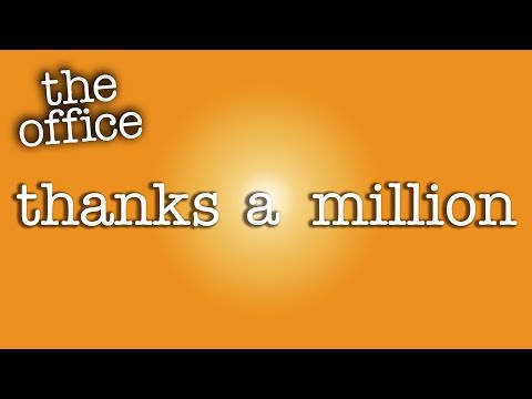 One Million Subscribers!  - The Office US