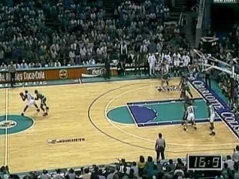 1993 NBA Playoffs, Eastern Quarterfinals - Boston Celtics @ Charlotte Hornets - Game 4 Finish (2/2)