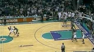 1993 NBA Playoffs, Eastern Quarterfinals - Boston Celtics @ Charlotte Hornets - Game 4 Finish (2/2)