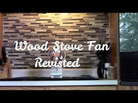 Wood Stove Fan Revisited