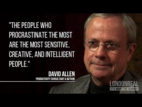 David Allen on Procrastination