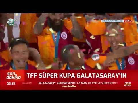 TFF Süper Kupa 2019 şampiyonu Galatasaray! 🏆