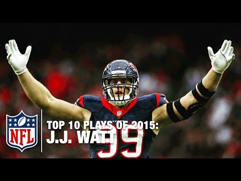 Top 10 J.J. Watt Highlights of 2015 | NFL