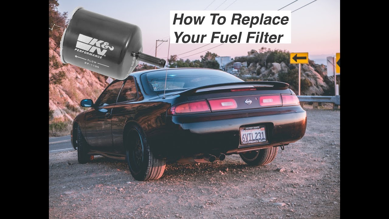 how to replace your 240sx fuel filter youtubehow to replace your 240sx fuel filter  [ 1280 x 720 Pixel ]