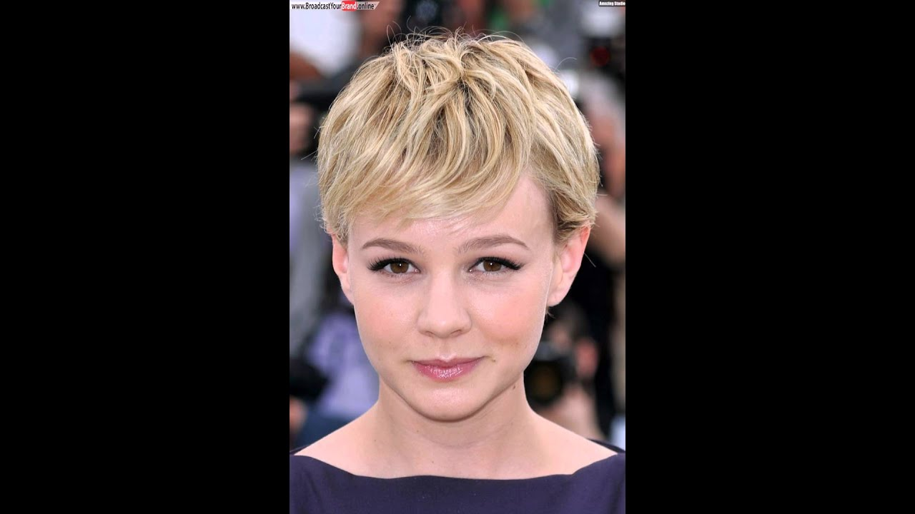 Pixie cut on round face youtube pixie cut on round face urmus Images