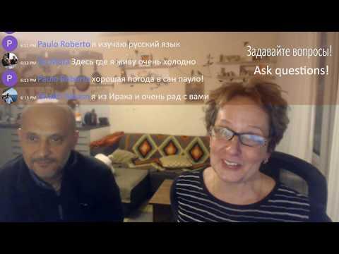 Learn Russian Language Live with Natasha and Richard Brown