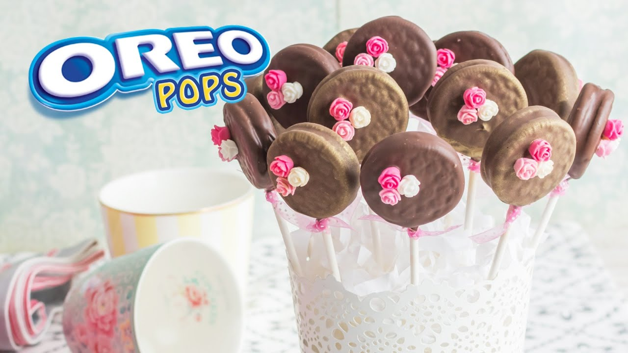 Oreo pops 8 mesa dulce para baby shower quiero for Mesa dulce para baby shower