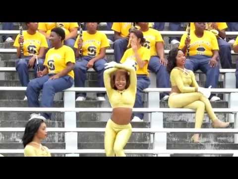"Southern University Dancing Dolls ""Full Game Highlights"" vs Northwestern 2014"