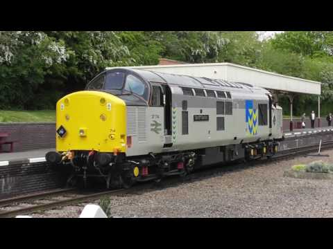 EE Class 37 No 37714 at The Great Central Railway - Diesel Running Day - 28th April 2017