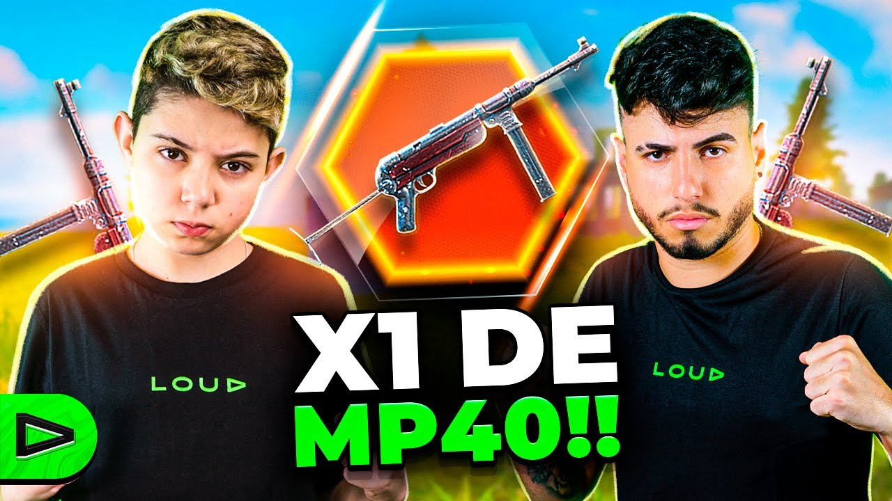 X1 DE MP40 ENTRE THURZIN E DACRUZ NA LOUD FREE FIRE!!