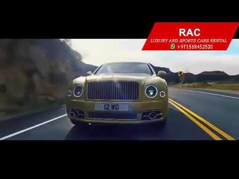 Bentley Mulsanne Rental In Dubai | Luxury Cars Rental Dubai | Rac Luxury Rental