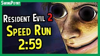 Resident Evil 2 Demo Speed Run 2:59 DONE LIVE! - (Resident Evil 2 Remake One Shot Demo Speed Run)