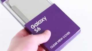 Samsung Galaxy S6 Clear View Cover Quick Look