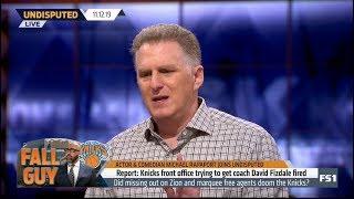 UNDISPUTED | Michael Rapaport SHOCKED Anthony Davis admits nagging shoulder injury