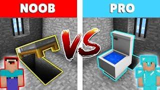 Minecraft NOOB vs PRO: ESCAPE SECRETO de la PRISION en Minecraft! Animación