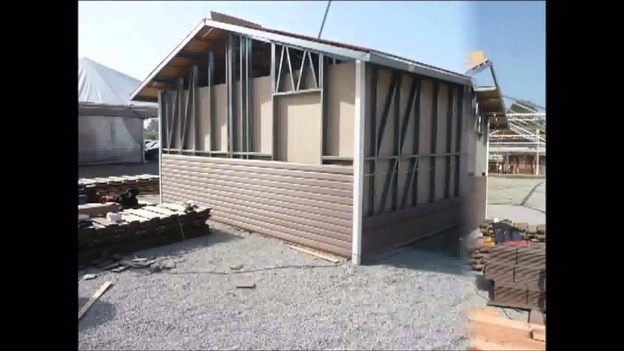 Construcci n de casas en wpc con estructura de aluminio - Casas estructura de madera ...